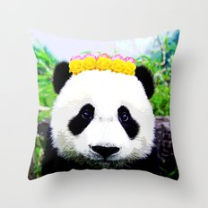 My Panda Throw Pillow