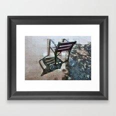 Cherish hearkened airwave, irksome recreation. v 2 Framed Art Print