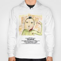 taxi driver Hoodies featuring Taxi Driver by Dobleu