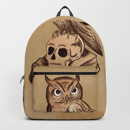 Wise Old Owl Backpack