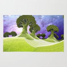 Broccoli Planet / / #fractal #fractals #3d Rug