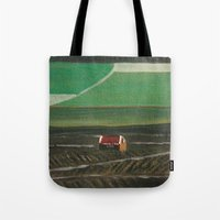 champagne Tote Bags featuring Champagne by Maria Julia Bastias