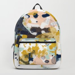Sloane - abstract painting gender neutral baby nursery dorm college decor Backpack