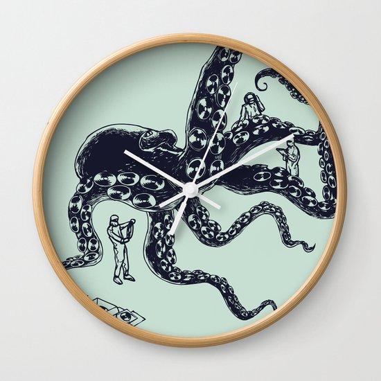 Experimental Music Wall Clock