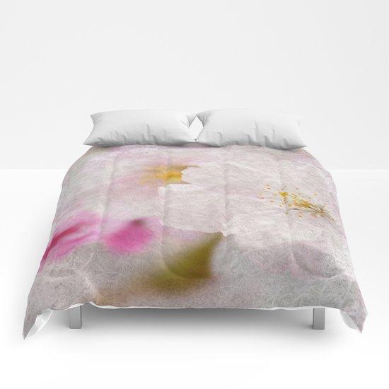 Cherry Blossom #8 Comforters