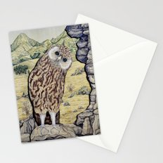 Laughing Owl  Stationery Cards