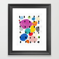 Bernard Pattern Framed Art Print