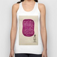 childish gambino Tank Tops featuring Childish Gambino; What Rappers Say Series 4/8 by Jaron Lionel