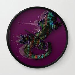 Candied Lizard Wall Clock
