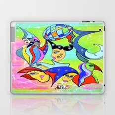 WITHOUT STOPPING Laptop & iPad Skin