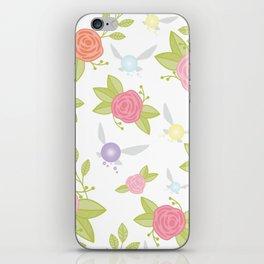 Garden of Fairies Pattern iPhone Skin