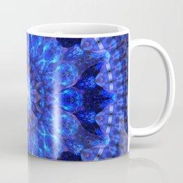 Azure Shield Mandala Coffee Mug