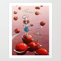 Apple Day Art Print
