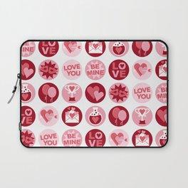 Love Polka Dots Laptop Sleeve