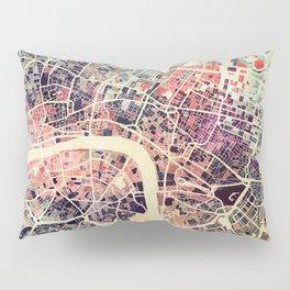 London Mosaic Map #1 Pillow Sham