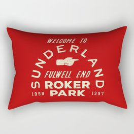 Roker Park Football Ground Rectangular Pillow