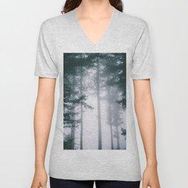 Moody Forest II Unisex V-Neck