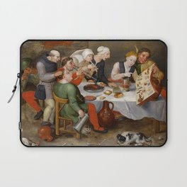 """Hieronymus Bosch """"The Bacchus Singers"""" Laptop Sleeve"""