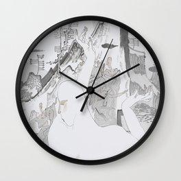 Among the Jungle Wall Clock