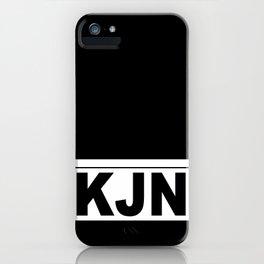 KJN iPhone Case