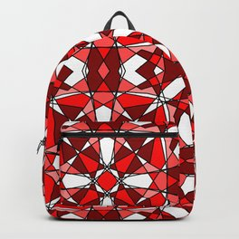 Ruby Stained Glass 2 Backpack