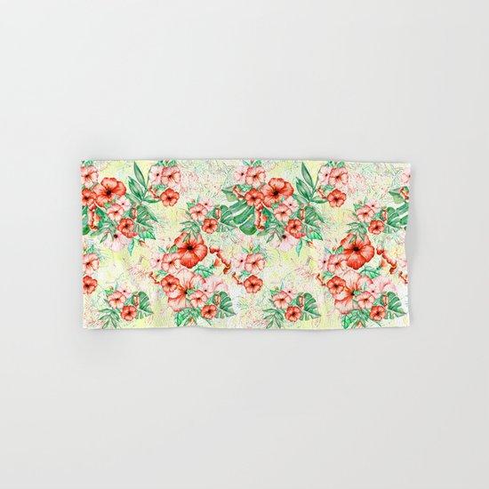 Tropical Summer #17 Hand & Bath Towel
