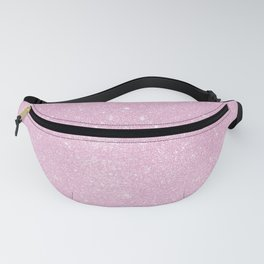 Pastel Pink Pearl Glitter Fanny Pack