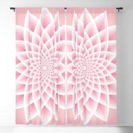 Pink Lotus Blackout Curtain