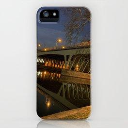 Girard St Bridge Portal iPhone Case