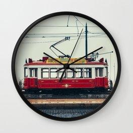 Tram number 6 Wall Clock