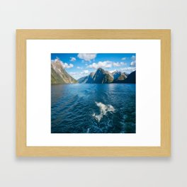 Playful Moments Framed Art Print