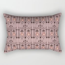 Country Bear in Vintage Frame Rectangular Pillow