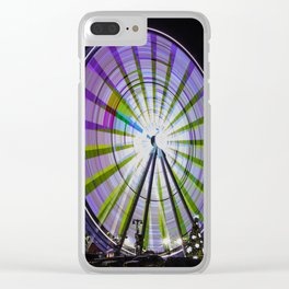 Ferris Wheel in the Smokey's Clear iPhone Case