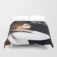 west coast Duvet Covers featuring WEST COAST by Alfonso Aranda