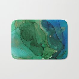 Ocean gold Bath Mat