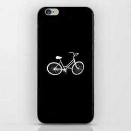 Ghost Bike Riding Rider Lover iPhone Skin