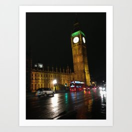 Westminister, London Art Print