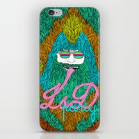 lsd iPhone & iPod Skins featuring Lsd party by DIVIDUS