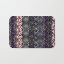 Russian style inspired Aztec Bath Mat