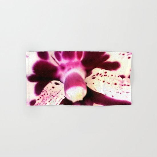 Purple Orchid Beauty Hand & Bath Towel