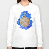 the little prince Long Sleeve T-shirts featuring Little Prince Vader by gunberk