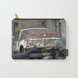 Old BMW Wreck Carry-All Pouch
