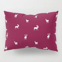 RED DEER PATTERN Pillow Sham