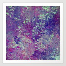 Lavender Days Art Print