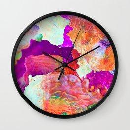 Abstract Melt I Wall Clock