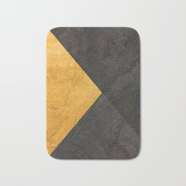 Yellow and Grey - Triangle Bath Mat