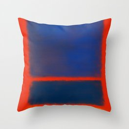 Rothko Inspired #7 Throw Pillow