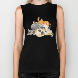 Cat Nap (Siesta Time) Biker Tank