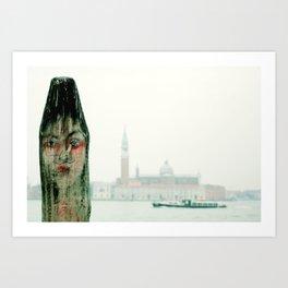 Carnevale di Venezia_00 Art Print