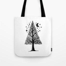 The night tree Tote Bag